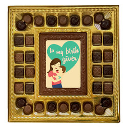 To My Birth Giver Deluxe  Chocolate Box