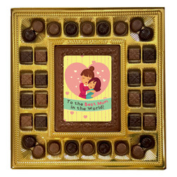 To the Best Mum in the World Deluxe  Chocolate Box