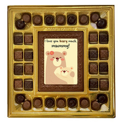 I Love You Beary Much Mummy! Deluxe  Chocolate Box