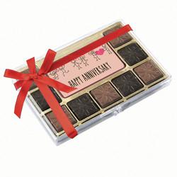 Pink Happy Anniversary Chocolate Indulgence Box