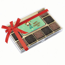 Green Happy Mother's Day Chocolate Indulgence Box