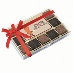 Don't Feel De-Feet-Ted Chocolate Indulgence Box
