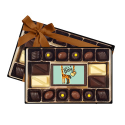 Giraffe It's a Boy Signature Chocolate Box