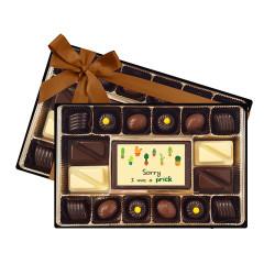 Sorry I Was a Prick Chocolate Box