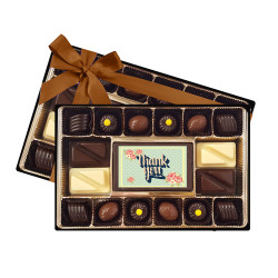 Thank You Flower Chocolate Box