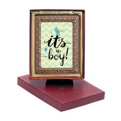 It's a Boy  Chocolate Portrait