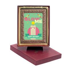 Blow Me Chocolate Portrait