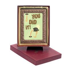 You Did It! Chocolate Portrait