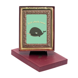 Feel Whale Soon Chocolate Portrait