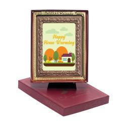 Happy House Warming  Chocolate Portrait