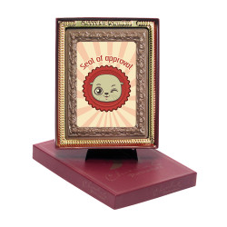 Seal of Approval Chocolate Portrait