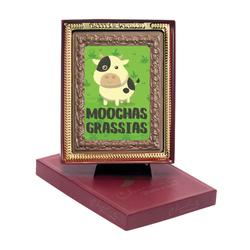 Moochas Grassias Chocolate Portrait