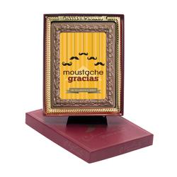 Moustache Gracias Chocolate Portrait
