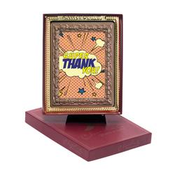 Super Thank You! Chocolate Portrait