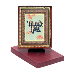 Thank You Chocolate Portrait