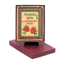 Thank You Strawberry Much Chocolate Portrait