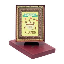 Thanks a Latte Chocolate Portrait