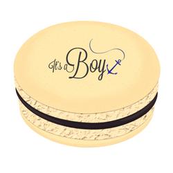 It's a Boy Printed Macarons