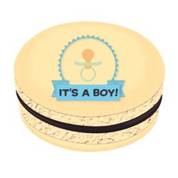 It's a Boy! Printed Macarons