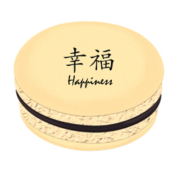 Happiness Printed Macarons