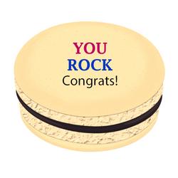 You Rock Printed Macarons
