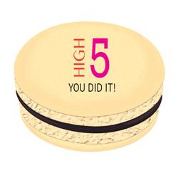 High 5 Printed Macarons