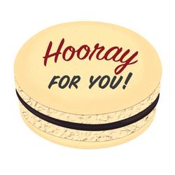 Hooray For You! Printed Macarons