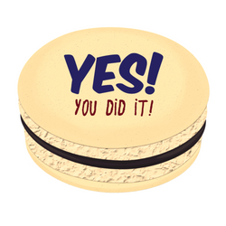 Yes You Did It! Printed Macarons