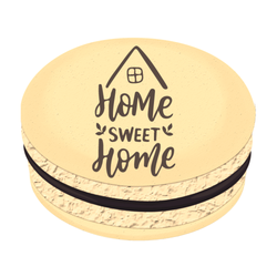 Home Sweet Home Printed Macarons