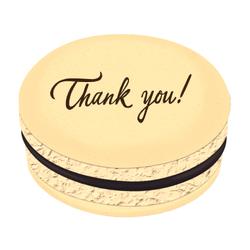 Thank You Printed Macarons