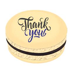 Thank You! Printed Macarons
