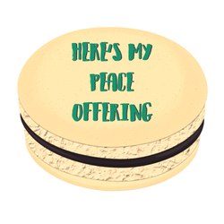 Peace Offering Printed Macarons