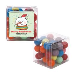 Merry Christmas Snowman Christmas Sweet Cubes