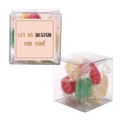 Let Us Design Your Sweet Cubes