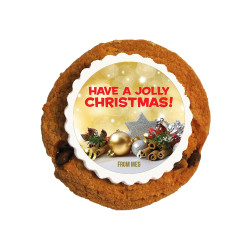 Have a Jolly  Christmas Printed Cookies