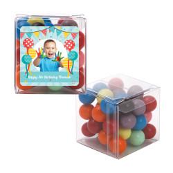 Balloons Birthday Sweet Cubes