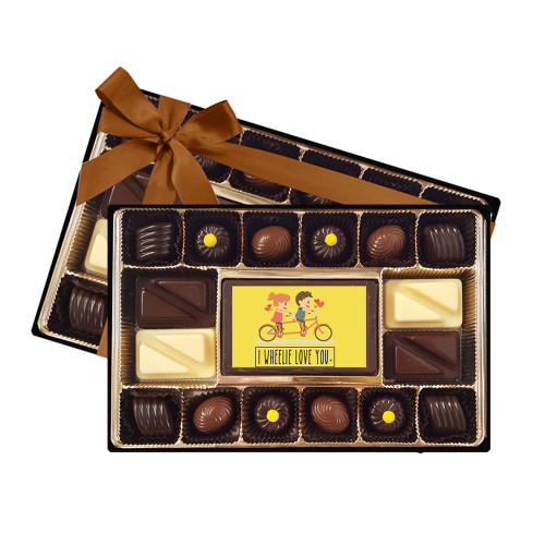 I Wheelie Love You Signature Chocolate Box