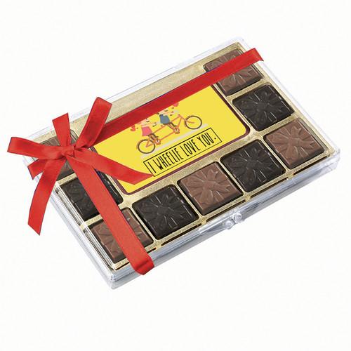 I Wheelie Love You Chocolate Indulgence Box