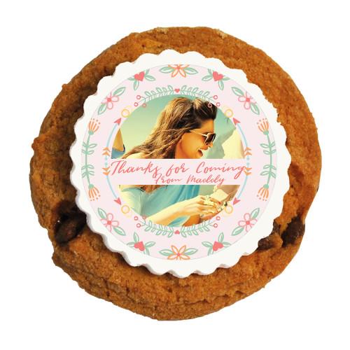 2_ Custom Photo  Bridal Shower Printed Cookies