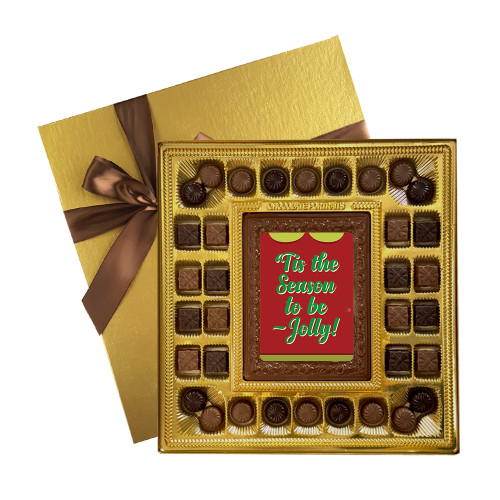 'Tis the Season to be Jolly! Deluxe  Chocolate Box