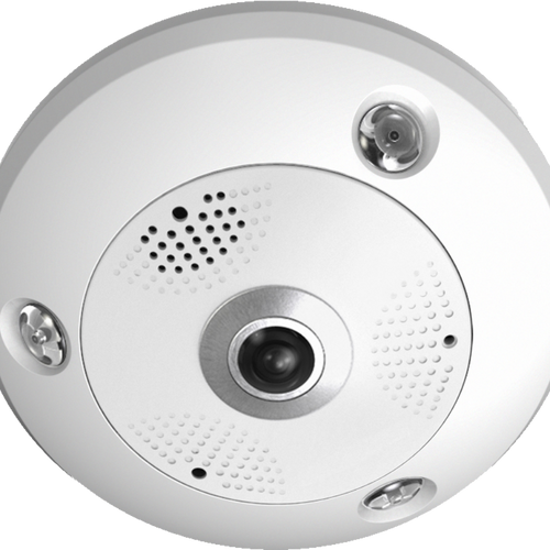 6MP WDR Fisheye Network Camera | ESNCA06-FEA