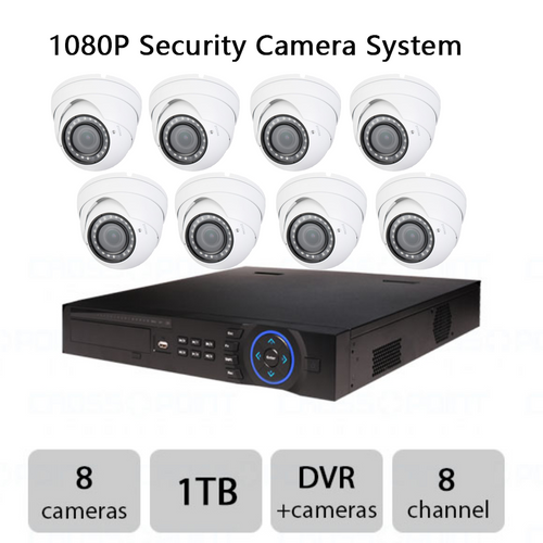 1080P Security Camera System