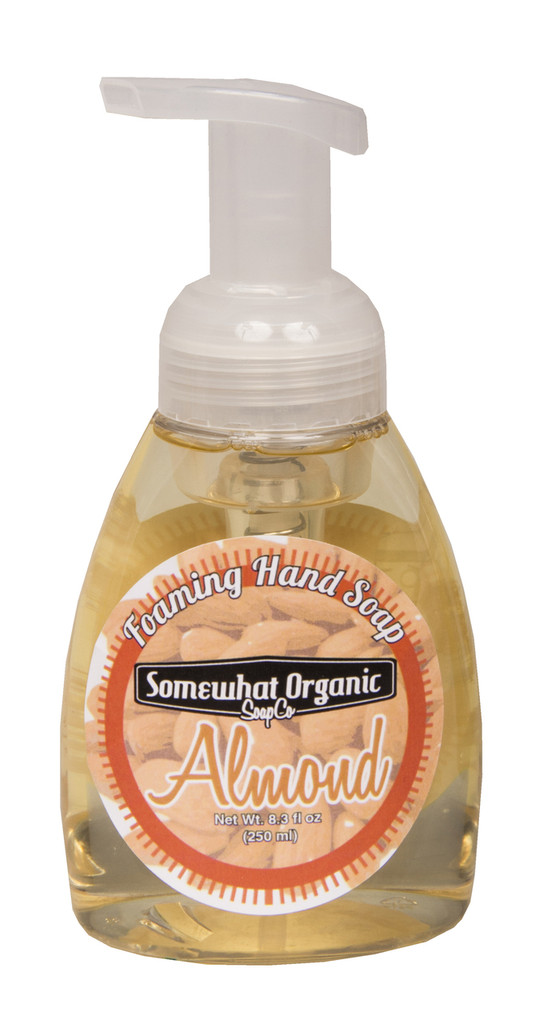 Almond Organic Foaming Hand Soap - Pump