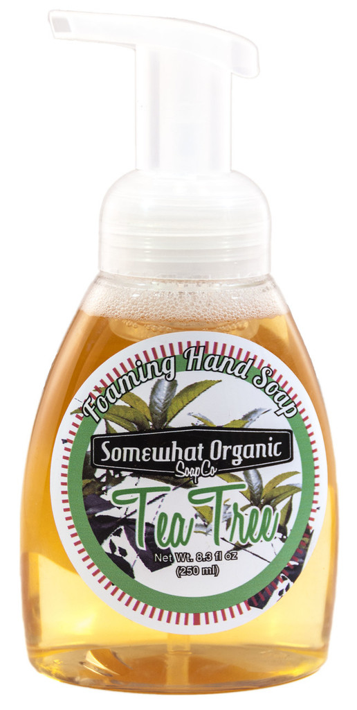 Tea Tree Organic Foaming Hand Soap - pump