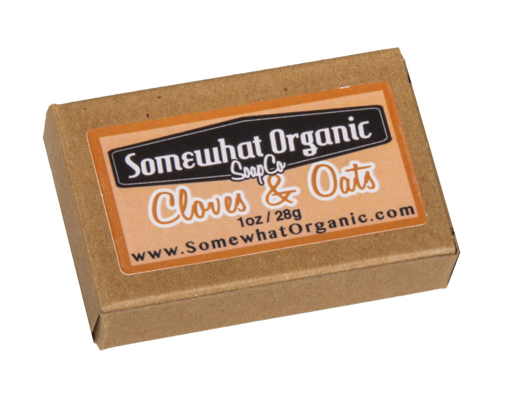 Cloves and Oats Organic Soap - 1 oz. Mini Bar