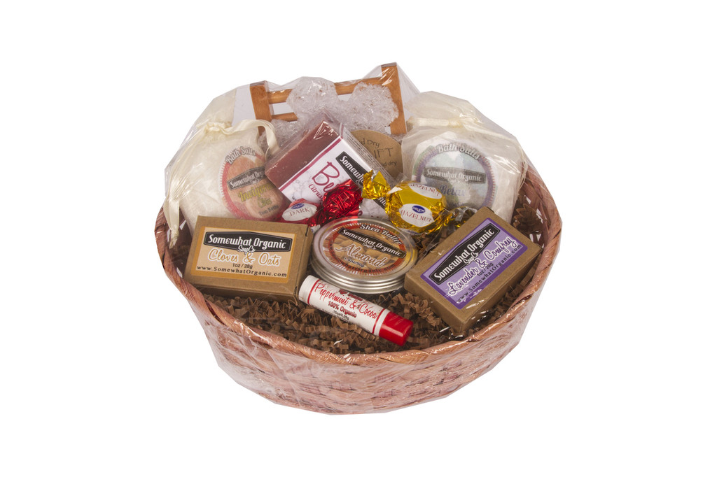 """LARGE Favorites Sampler"" Organic Gift Basket"
