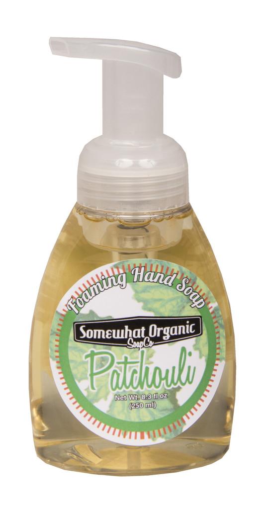 Pachouli Organic Foaming Hand Soap - Pump