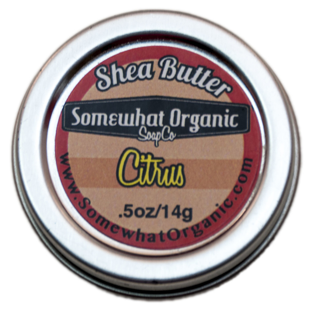 Citrus Shea Butter Body Creme - .5 oz.