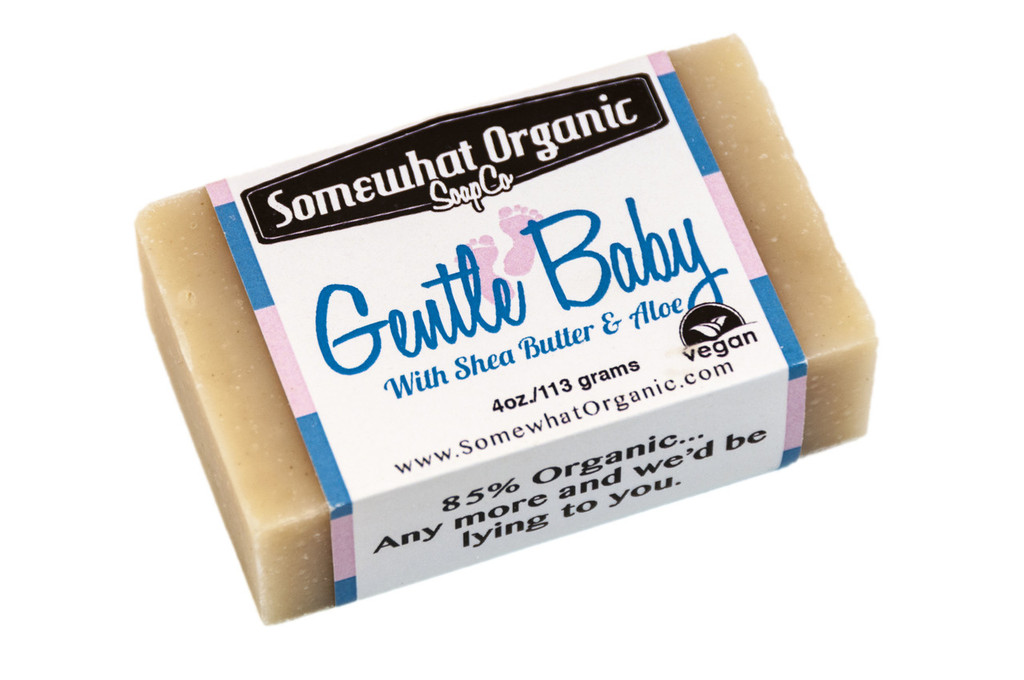 Gentle Baby Soap- 4 oz Bar