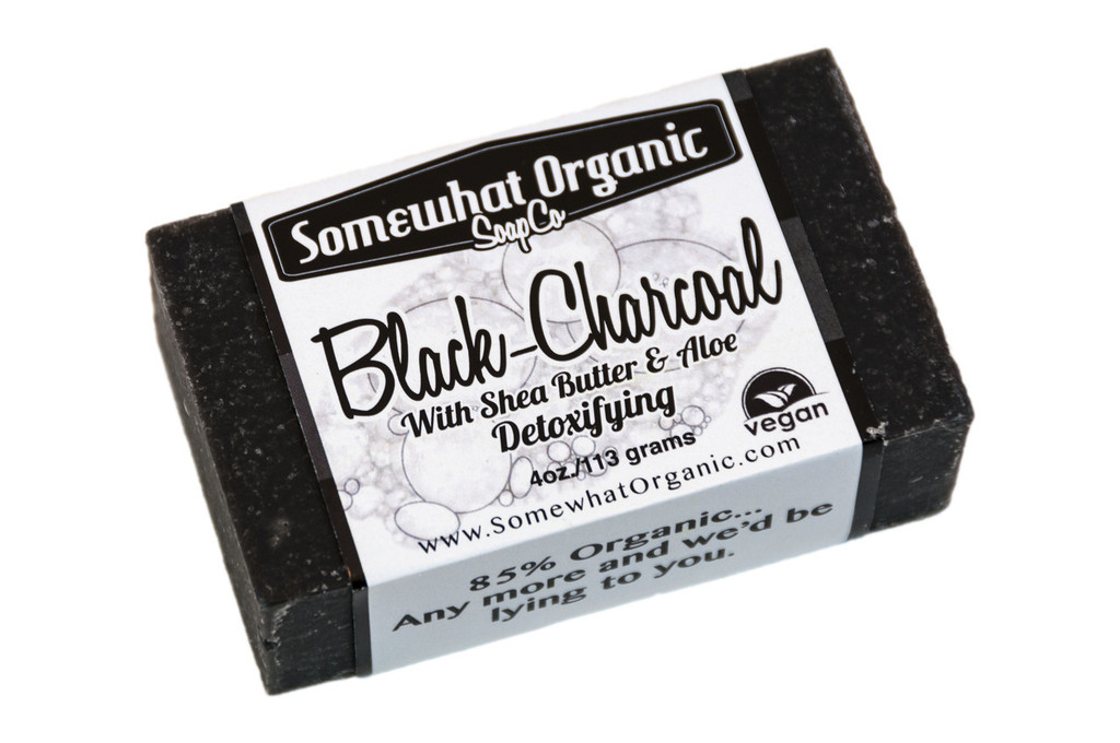 Black-Charcoal Soap- 4 oz Bar